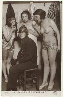 'A Travers Les Coulisses', by Unknown photographer - NPG Ax160215