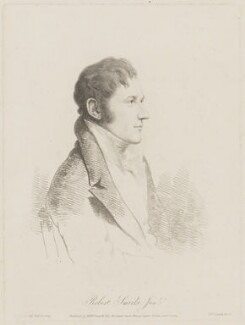 Sir Robert Smirke, by and published by William Daniell, after  George Dance - NPG D41735