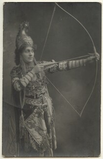 Unknown woman, by Unknown photographer, 1910s - NPG Ax160222 - © National Portrait Gallery, London