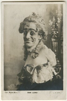 Dan Leno, by William Davey, published by  J. Beagles & Co - NPG Ax160245