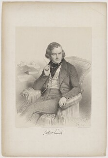 Albert Richard Smith, by Charles Baugniet, printed by  M & N Hanhart, published by  Leader & Cock - NPG D41741