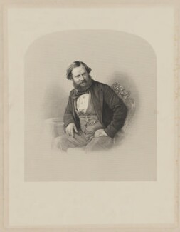 Albert Richard Smith, by Daniel John Pound - NPG D41743