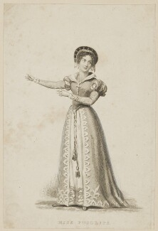 Louisa Anne Phillips, probably by Thomas Engleheart, probably after  Thomas Charles Wageman - NPG D38610