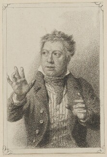 John Emery as Tyke in Morton's 'School of Reform', by John Rogers, published by  T & I Elvey, after  Thomas Charles Wageman - NPG D38612