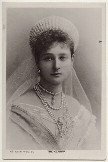 Alexandra, Empress of Russia (née Princess Alix of Hesse and by Rhine), published by Rotary Photographic Co Ltd - NPG x131647
