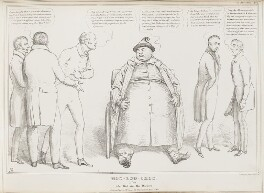 Hoo-Loo-Choo.  Alias John Bull and the Doctors, by John ('HB') Doyle, printed by  Charles Etienne Pierre Motte, published by  Thomas McLean, published 2 May 1831 - NPG D41059 - © National Portrait Gallery, London
