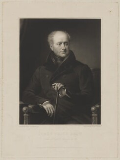James Smith, by Henry Cousins, published by  Marseille Middleton Holloway, after  James Lonsdale - NPG D41750