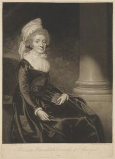 Henrietta Grey (née Cavendish Bentinck), Countess of Stamford, by George Keating, after  George Romney - NPG D41850