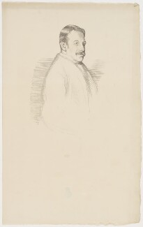Sir Charles Villiers Stanford, by William Rothenstein - NPG D41853