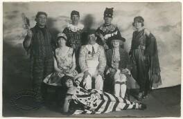 Group in fancy dress, by Stanley John Warren - NPG Ax160274