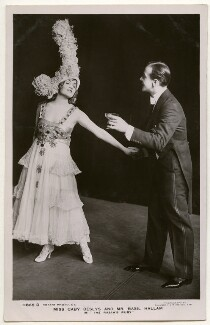 Gaby Deslys and Basil Hallam in 'The Rajah's Ruby', by Foulsham & Banfield, published by  Rotary Photographic Co Ltd - NPG Ax160275