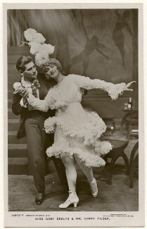 Harry Pilcer and Gaby Deslys in 'The Rajah's Ruby', by Foulsham & Banfield, published by  Rotary Photographic Co Ltd - NPG Ax160277