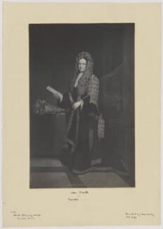 John Smith, after Sir Godfrey Kneller, Bt - NPG D41755