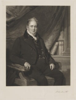 John Smith, by George Raphael Ward, after  Frederick Richard Say - NPG D41756