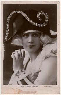 Clarice Mayne, by Fielding of Leeds - NPG Ax160284