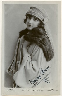 Marjorie Gordon, by Rita Martin, published by  J. Beagles & Co - NPG Ax160285