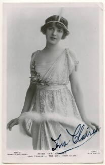 Ina Claire as Una Trance in 'The Girl from Utah', by Rita Martin, published by  J. Beagles & Co - NPG Ax160286