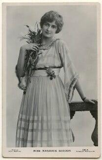 Marjorie Gordon, by Rita Martin, published by  J. Beagles & Co - NPG Ax160287