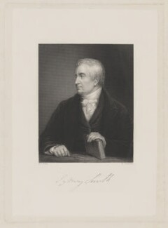Sydney Smith, by William Greatbach, after  Eden Upton Eddis, published 1850 - NPG D41763 - © National Portrait Gallery, London