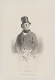 Thomas Assheton Smith, by William Holl Jr, published by  John Murray, after  P. Cooper - NPG D41771