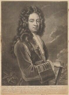James Stanhope, 1st Earl Stanhope, by John Simon, sold by  Edward Cooper, after  Sir Godfrey Kneller, Bt - NPG D41855