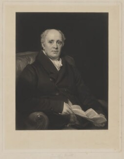Timothy Smith, by Henry Cousins, after  Thomas Phillips - NPG D41772