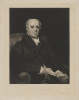 Timothy Smith, by Henry Cousins, after  Thomas Phillips - NPG D41773