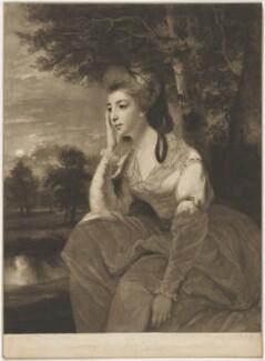 Hon. Elizabeth Stanhope (née Falconer), by John Raphael Smith, after  Sir Joshua Reynolds - NPG D41863