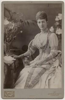 Queen Alexandra, by Henry Van der Weyde - NPG Ax5560