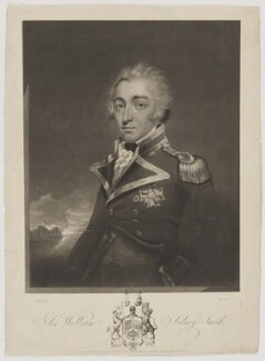 Sir William Sidney Smith, by Edward Bell, published by  Edward Orme, after  John Westbrooke Chandler - NPG D41784