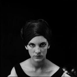 Diana Melly (née Dawson), by Ida Kar - NPG x134897