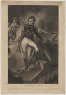Sir William Sidney Smith, by and published by Anthony Cardon, after  John Eckstein - NPG D41786