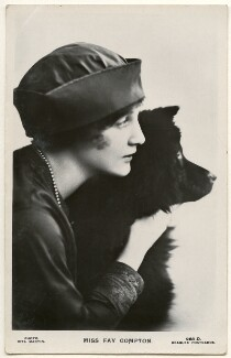 Fay Compton, by Rita Martin, published by  J. Beagles & Co, circa 1917 - NPG  - © National Portrait Gallery, London