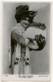 Emmy Wehlen as Olga in 'The Dollar Princess', by The Dover Street Studios Ltd, published by  J. Beagles & Co - NPG Ax160296