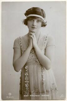 Winifred Barnes, by Rita Martin - NPG Ax160298