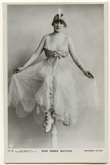 Peggy Kurton, by Foulsham & Banfield, published by  J.J. Samuels Ltd, mid 1910s - NPG Ax160299 - © National Portrait Gallery, London
