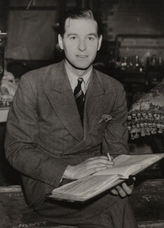 Terence Rattigan, by Unknown photographer, for  Sport & General Press Agency Ltd - NPG x134904