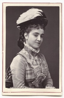 Adelina Patti, by Unknown photographer - NPG Ax7610