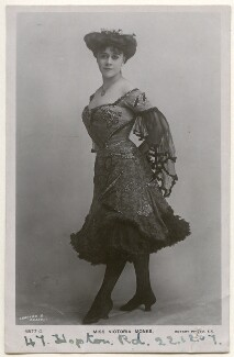 Victoria Monks, by Charles & Russell, published by  Rotary Photographic Co Ltd - NPG Ax160308
