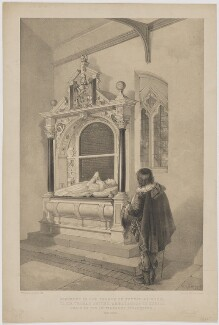Monument in the Church of Sutton-at-Hone to Sir Thomas Smythe, by William Henry Kearney, printed by  Day & Son - NPG D41800