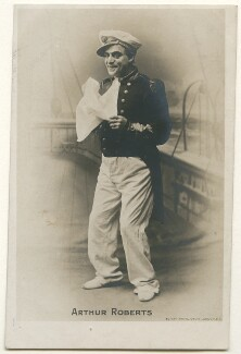 Arthur Roberts, published by Rotary Photographic Co Ltd - NPG Ax160313