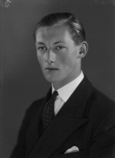 (Frederick) Anthony Hamilton Wills, 2nd Baron Dulverton, by Bassano Ltd - NPG x155572