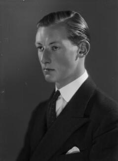 (Frederick) Anthony Hamilton Wills, 2nd Baron Dulverton, by Bassano Ltd - NPG x155573