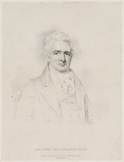 John Thomas Stanley, 1st Baron Stanley of Alderley, by Isaac Ware Slater, printed by  Charles Joseph Hullmandel, after  Joseph Slater - NPG D41868