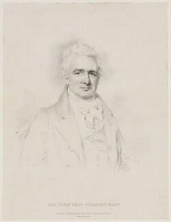 John Thomas Stanley, 1st Baron Stanley of Alderley, by Isaac Wane Slater, printed by  Charles Joseph Hullmandel, after  Joseph Slater - NPG D41868