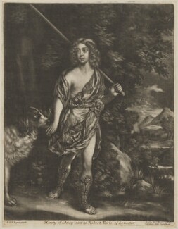 Henry Sidney, Earl of Romney, sold by Alexander Browne, after  Sir Peter Lely - NPG D41801