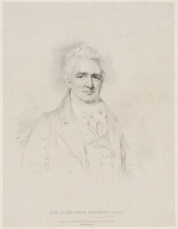 John Thomas Stanley, 1st Baron Stanley of Alderley, by Isaac Ware Slater, printed by  Charles Joseph Hullmandel, after  Joseph Slater - NPG D41869