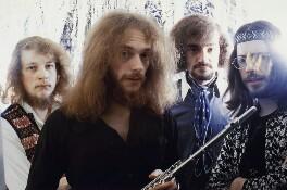 Jethro Tull (Martin Barre, Ian Anderson, Clive Bunker, Glenn Cornick), by Wolfgang Heilemann - NPG x134877
