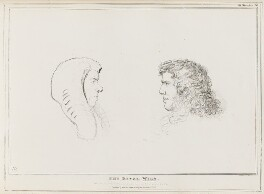 The Rival Wigs (Henry Brougham, 1st Baron Brougham and Vaux; Edward Law, 1st Earl of Ellenborough), by John ('HB') Doyle, published by  Thomas McLean - NPG D41072