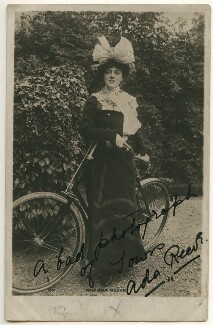 Ada Reeve, by Unknown photographer - NPG Ax160328